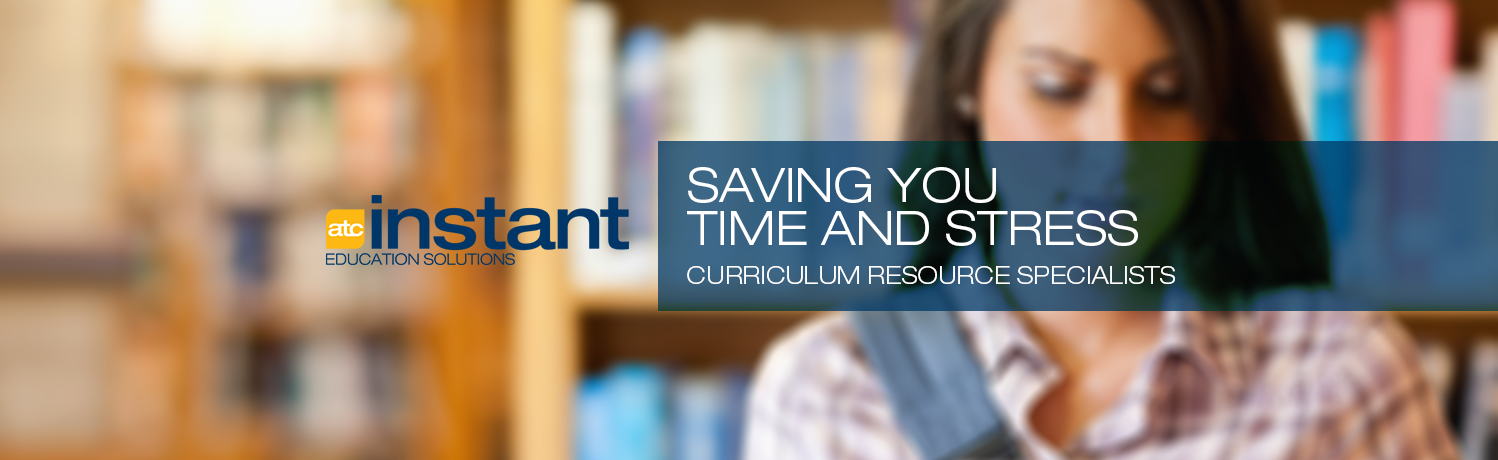 Saving you time and stress - Curriculum Resources